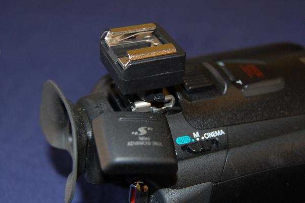 Canon HF-G25 mini shoe