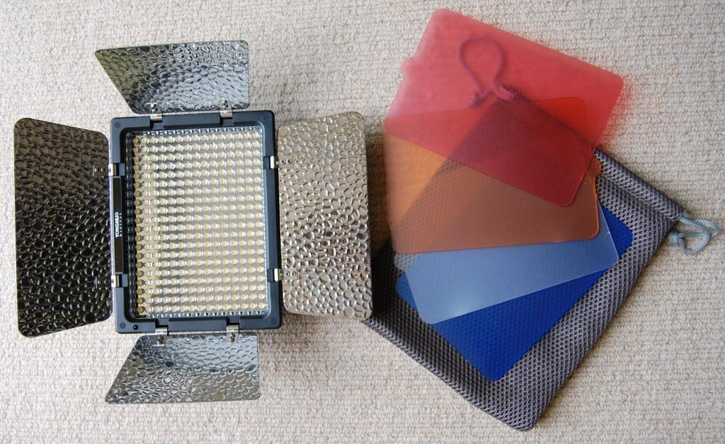 Yongnuo YN300 and filters