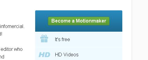 Dailymotion Motionmaker