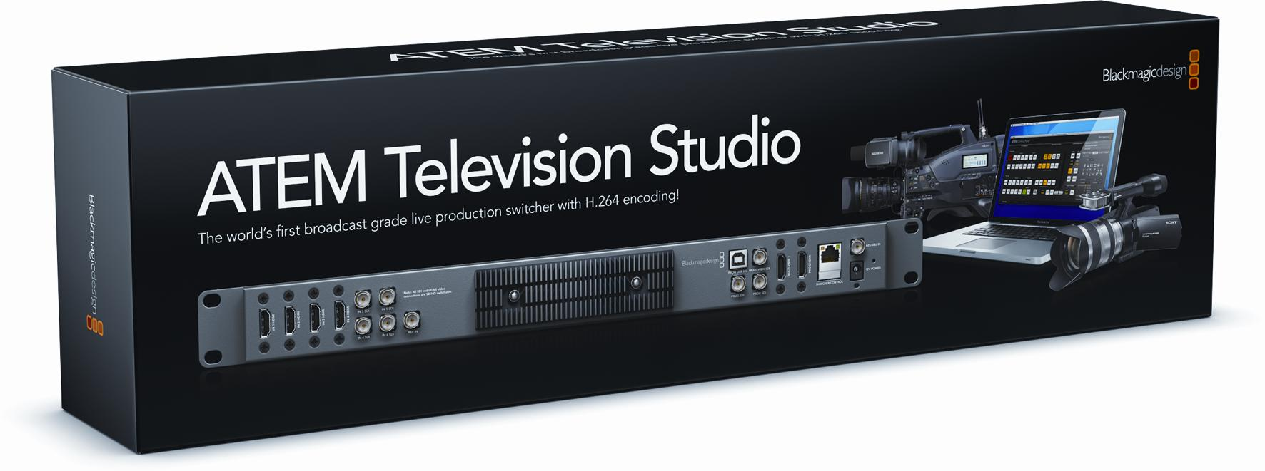 Blackmagic ATEM TV studio