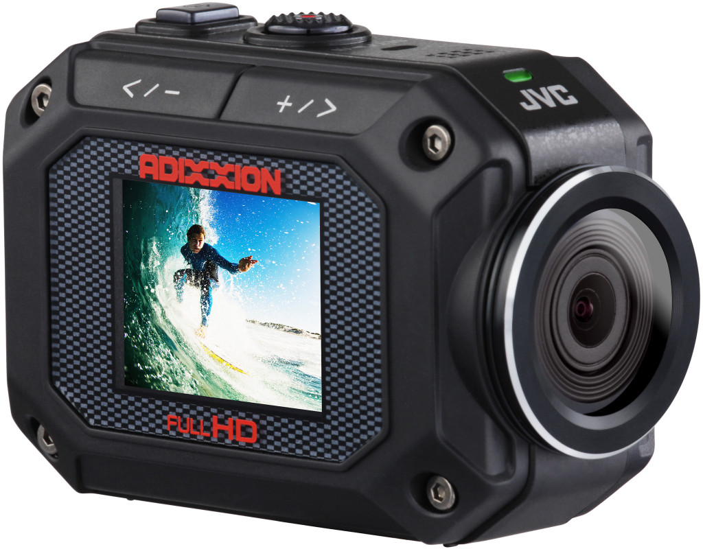 "JVC ""Adixxion"" action cam"