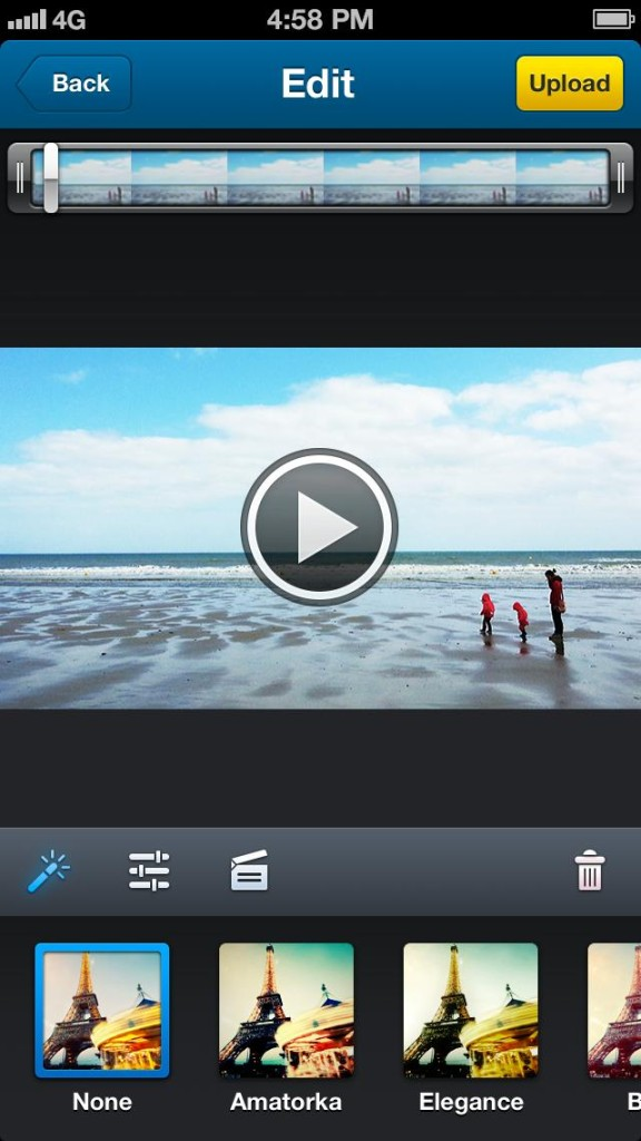 Dailymotion Camera - Filters