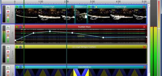 VideoMeld main screen