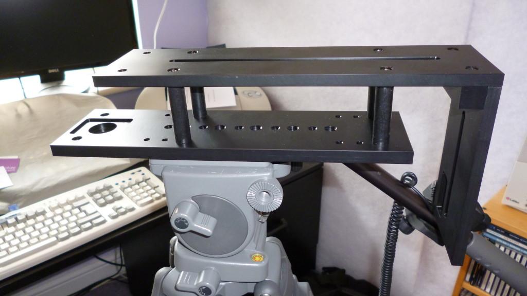 Datavideo TP300 camera frame on tripod