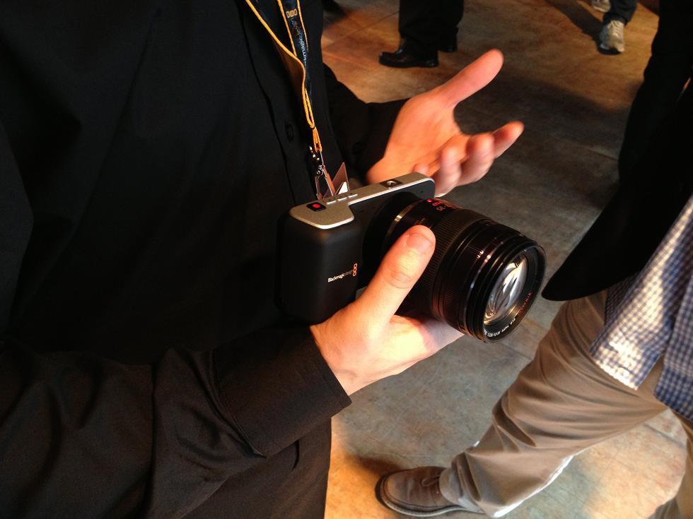 IBC 2013 BlackMagic Pocket Cinema Camera