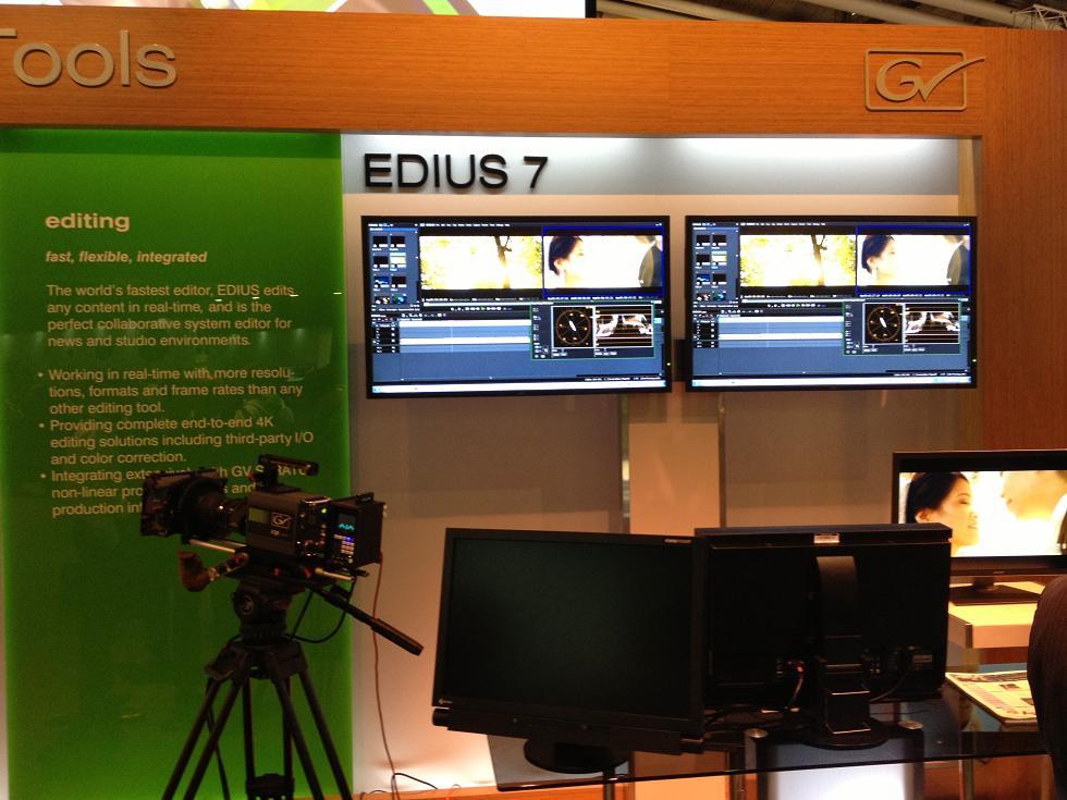 IBC 2013 Edius