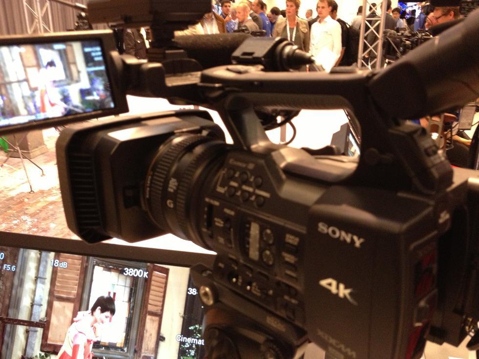 IBC 2013 Sony 4K camera