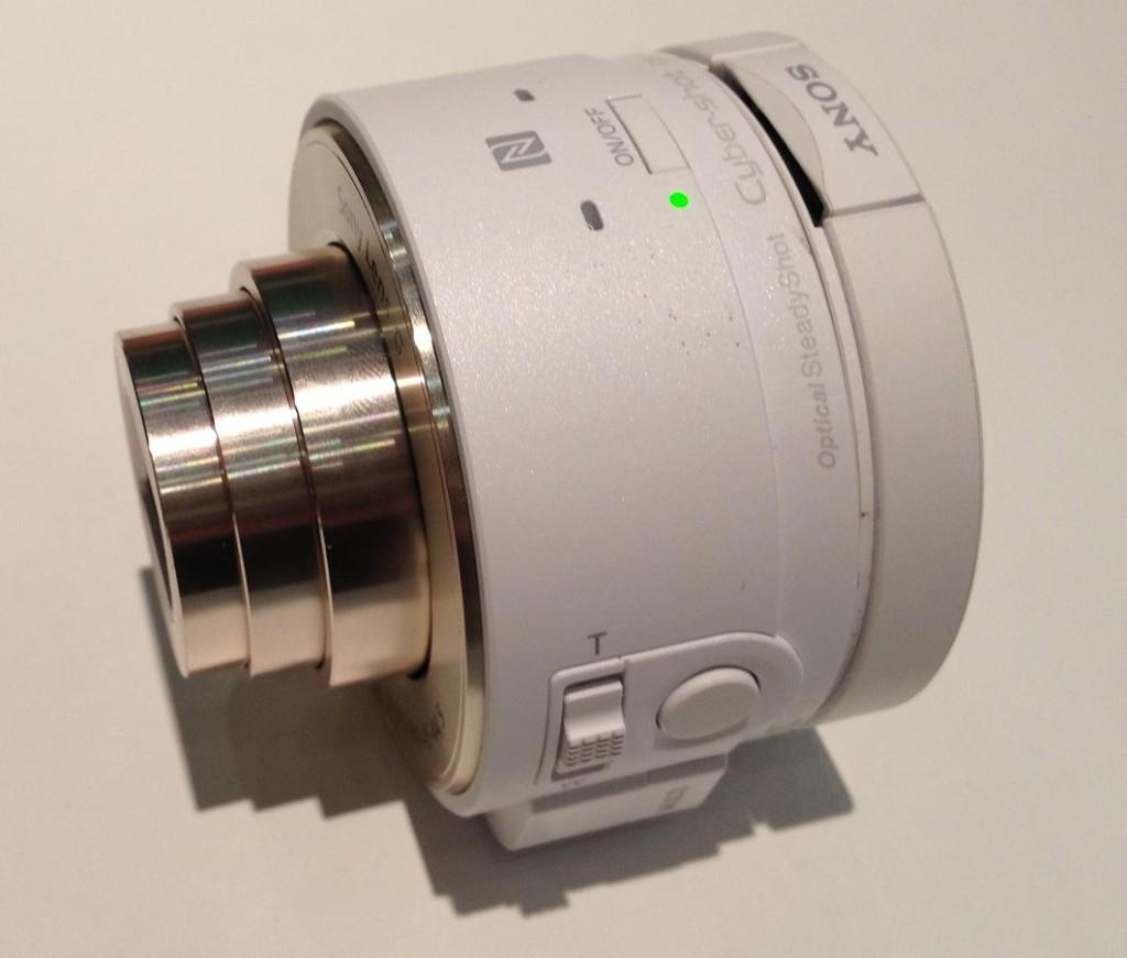 IBC 2013 Sony QX camera