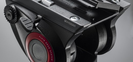 Manfrotto MVH500AH tripod head release plate