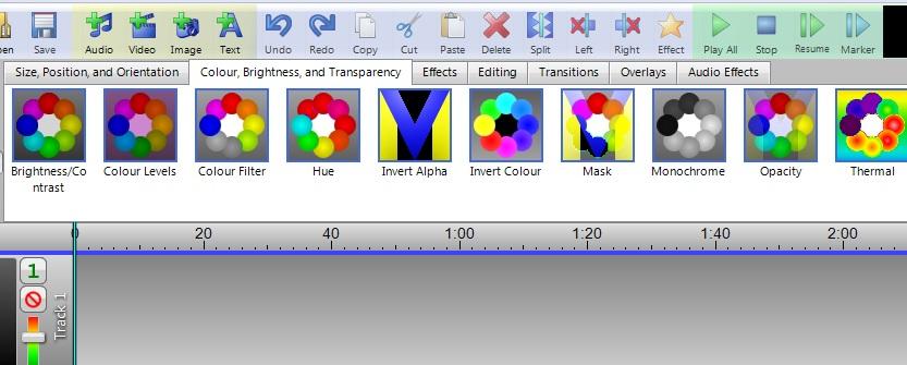 VideoMeld icons