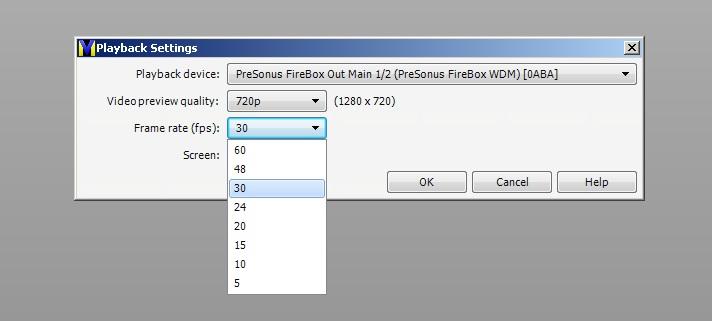 VideoMeld playback configuration