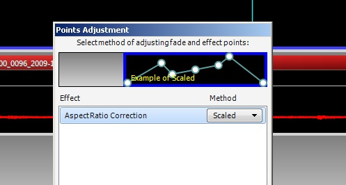VideoMeld's pesky point adjustment prompt
