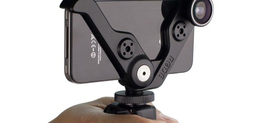 Rodegrip+ as video handle