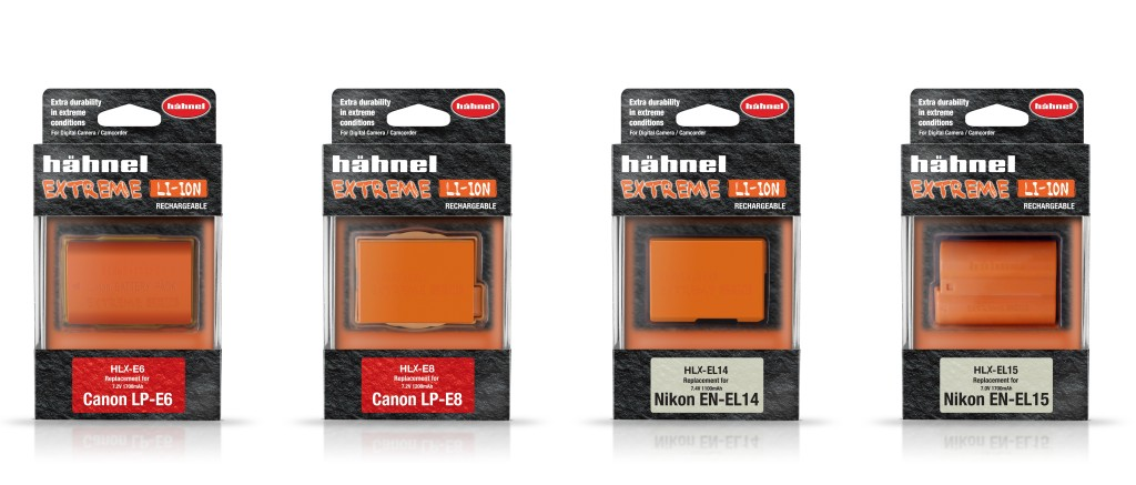 Hahnel E6/E8 and EL14/EL15 batteries
