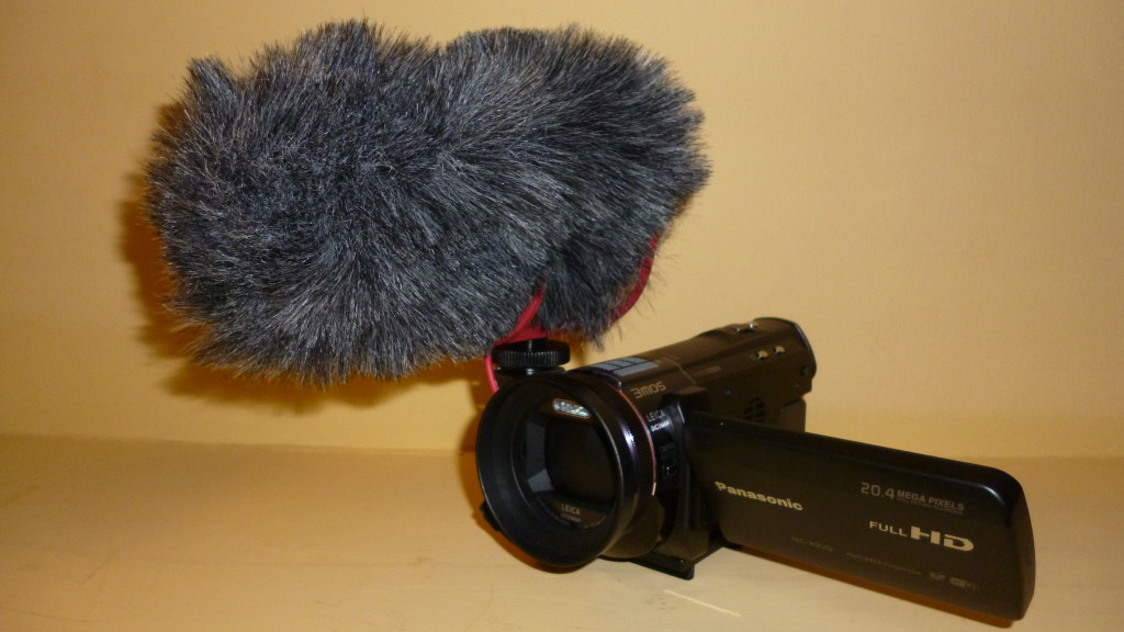 Rode VideoMic GO with Rycote windjammer