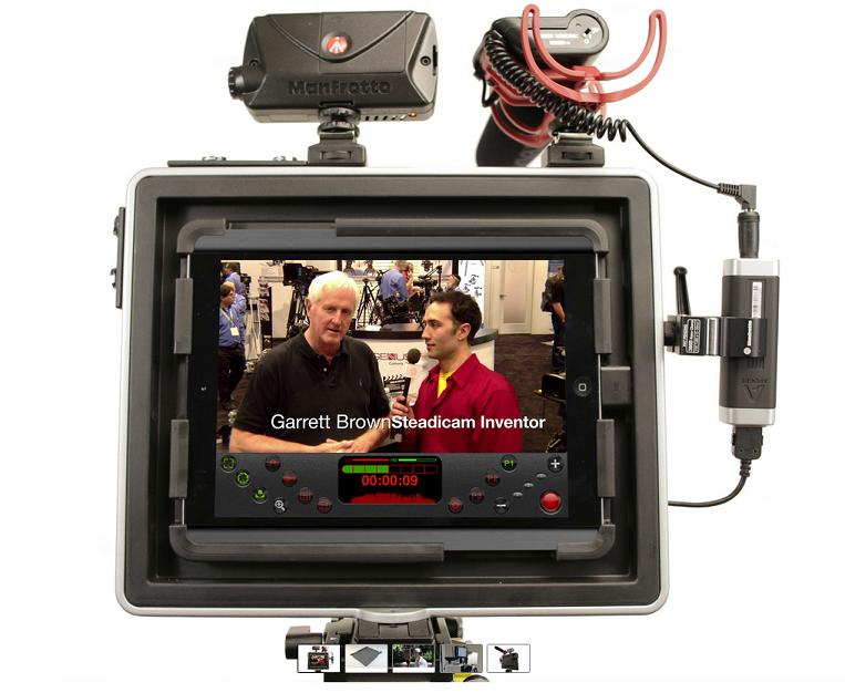 Padcaster for the iPad Air