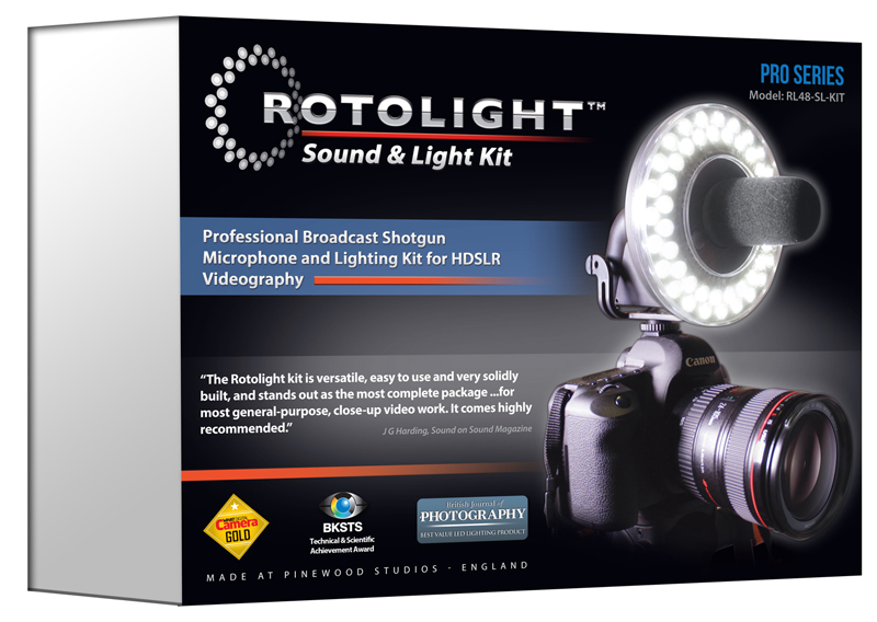 Rotolight Rotomic and light pack