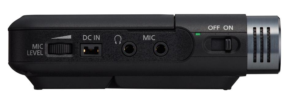 Canon Legria mini X sockets