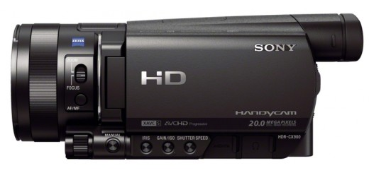 Sony CX900 from side
