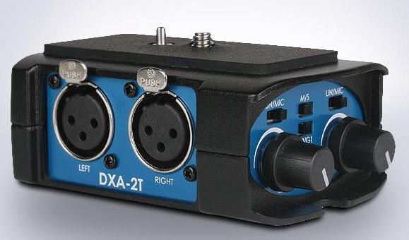 Beachtek DXA-2T XLR to 3.5 adapter