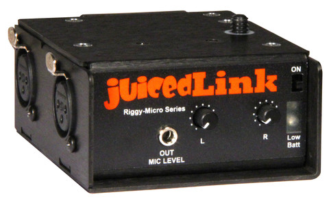 Juiced Link RM222 XLR to 3.5mm adapter