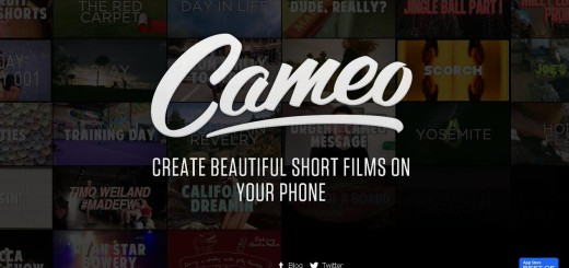 Cameo home page