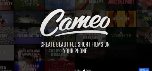 Cameo home page