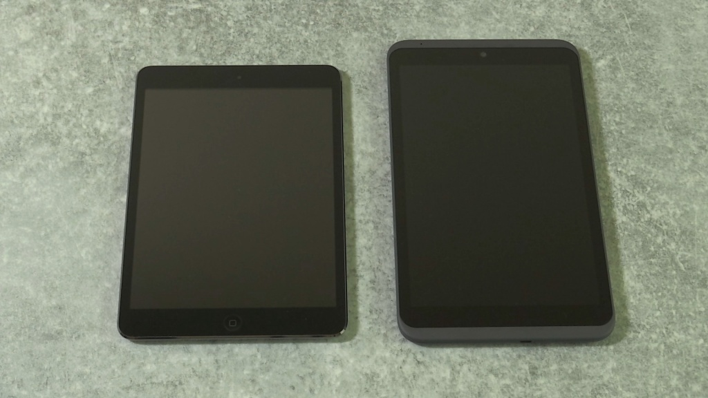 Hudl 2 vs iPad mini