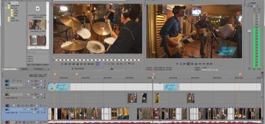 Sony Vegas Pro 13 screenshot