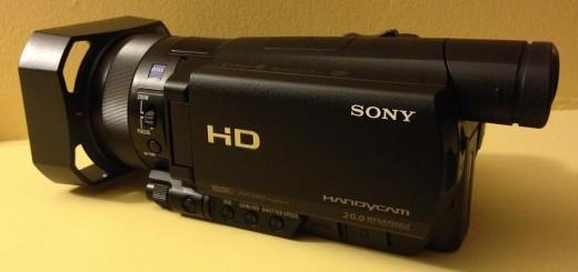 Sony CX900 camcorder