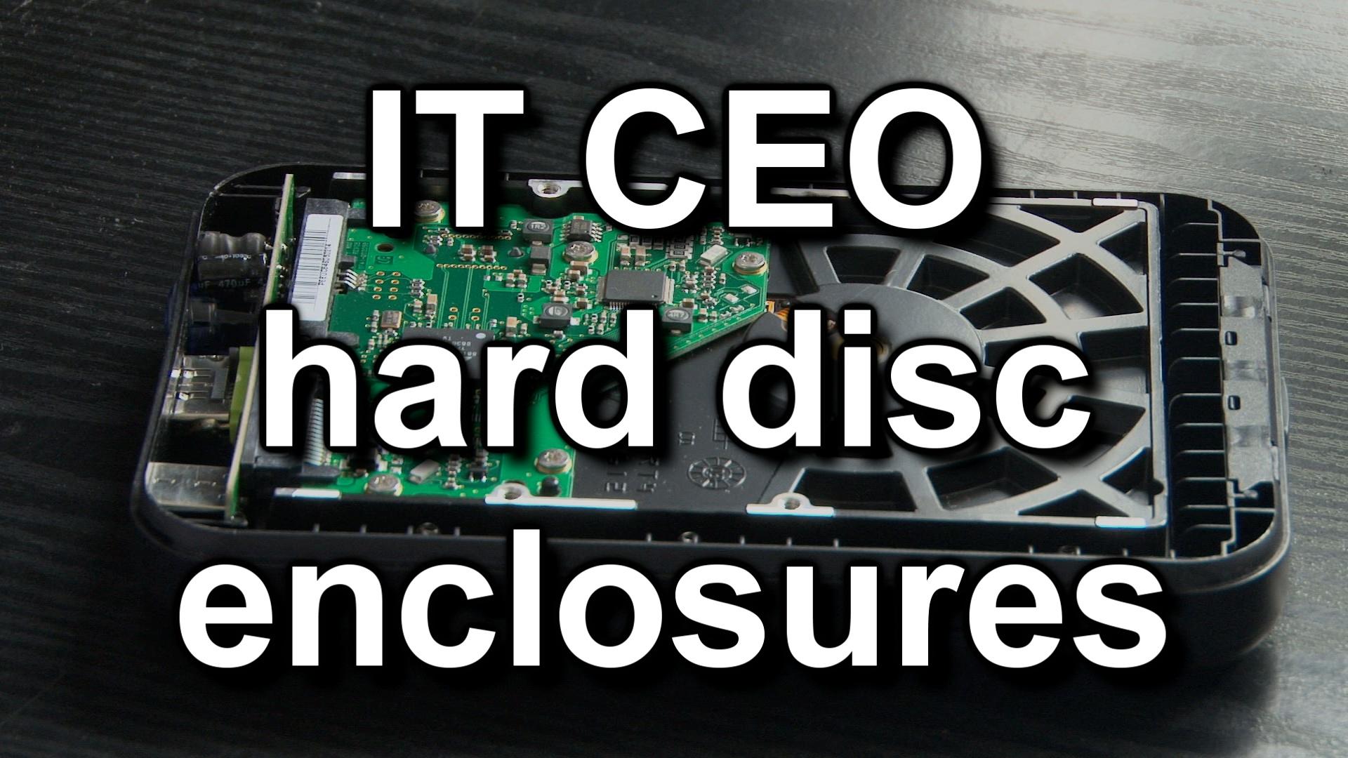 IT-CEO hard disc enclosures thumbnail
