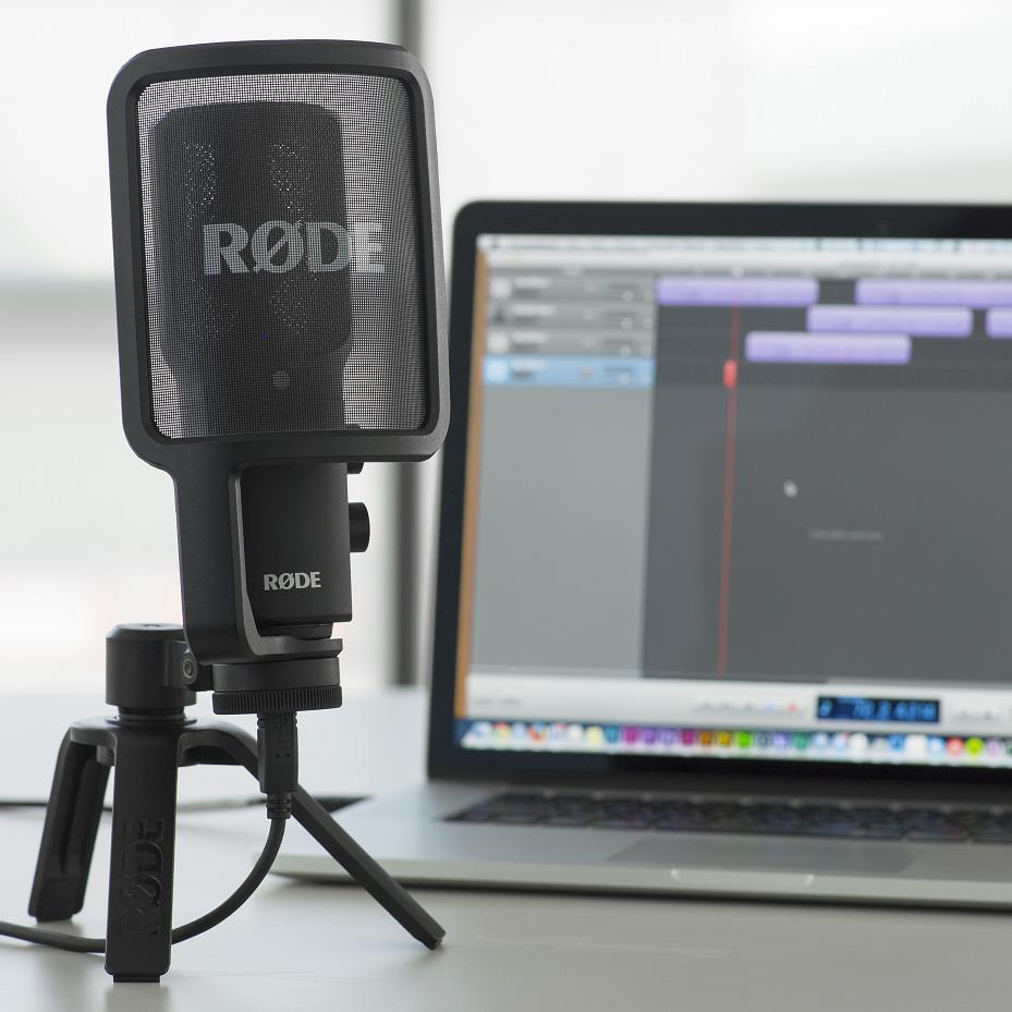 Rode NT-USB with Mac