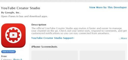 YouTube Creator App