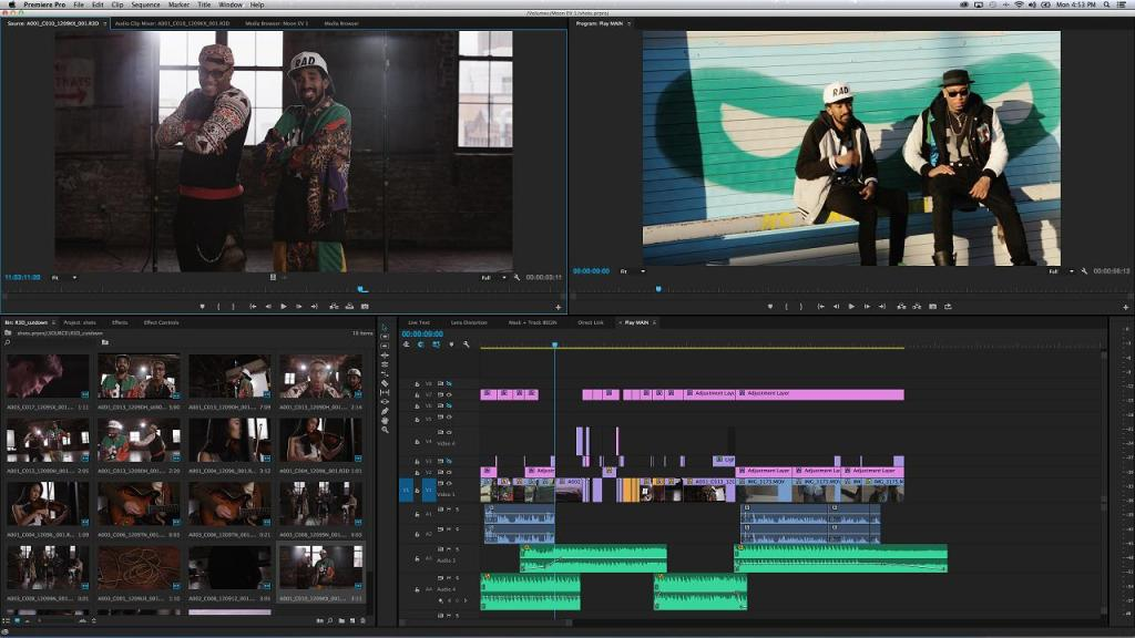 Adobe Premiere CC2014 revised user interface