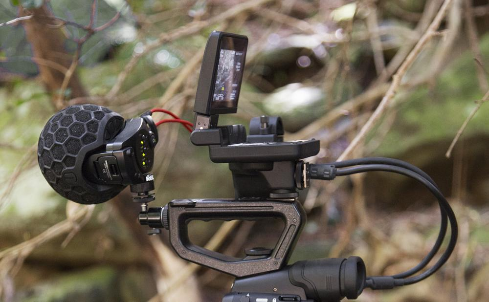 Rode SVMX on a Canon C300