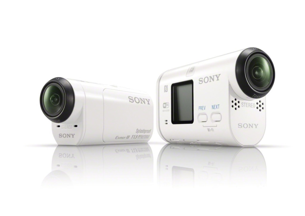 Sony HDR-AZ1VR with the bigger AS100VR
