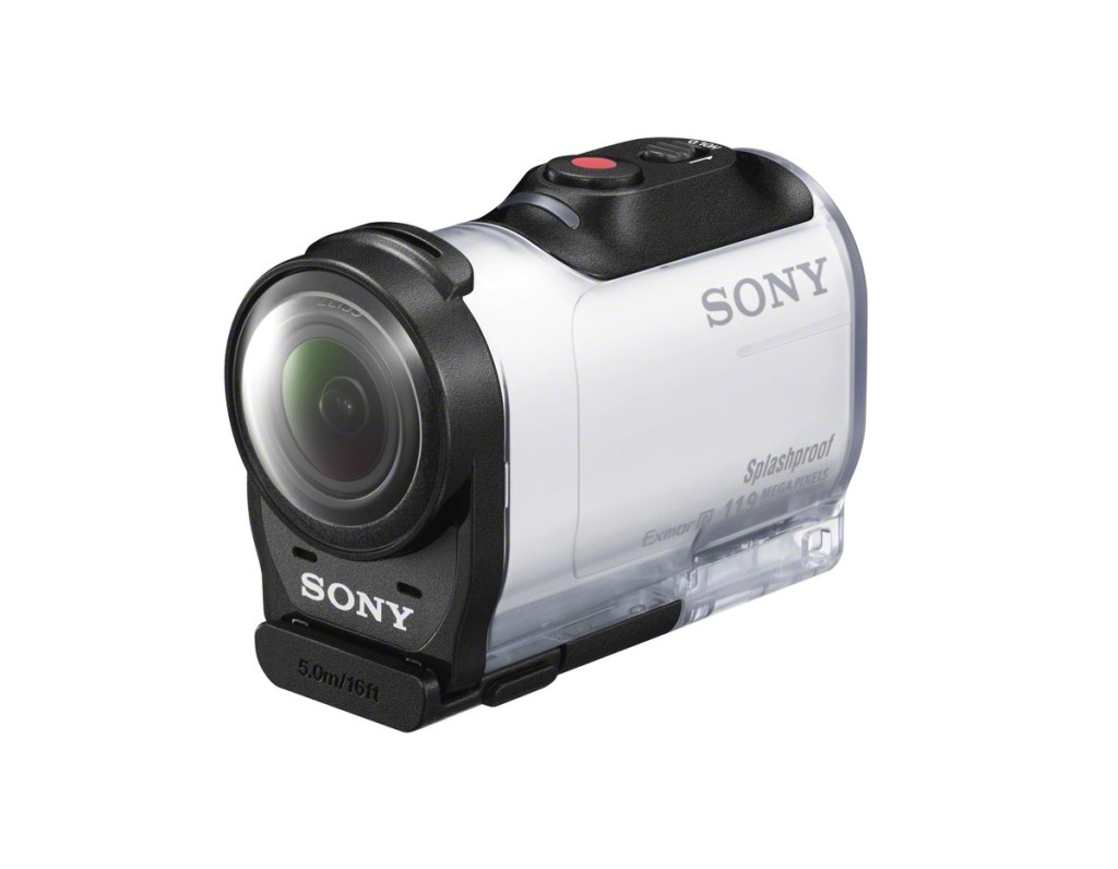 Sony HDR-AZ1VR in case