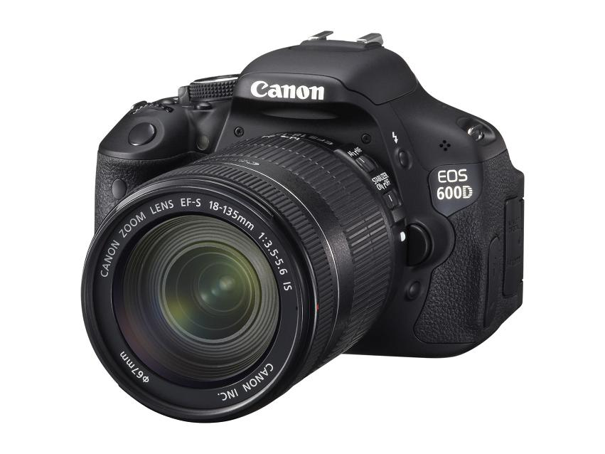 EOS 600D with EF-S 18-135mm IS lens