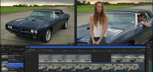 HitFilm Pro 3 main screen
