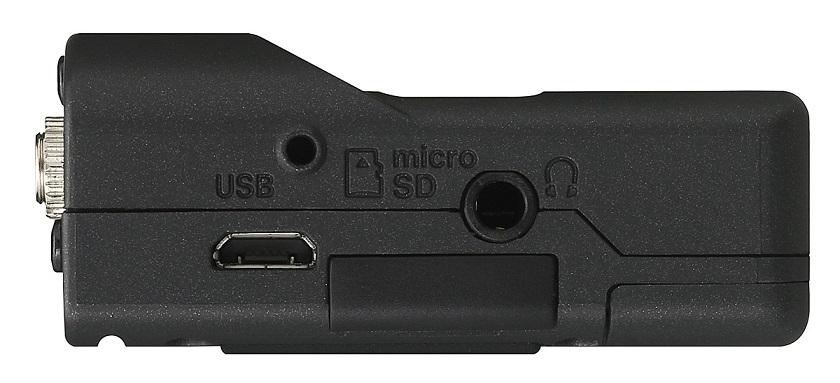 Tascam DR-10CS left side