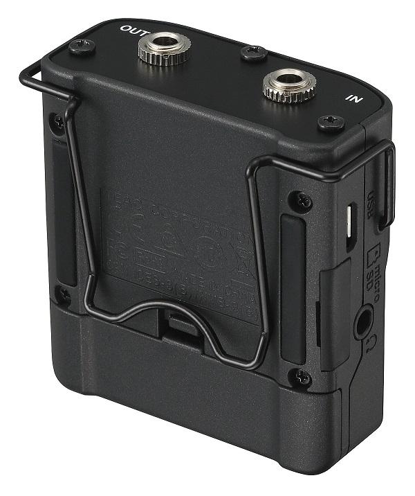 Tascam DR-10CS with belt clip