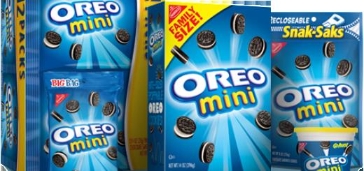 Oreo cookies bags