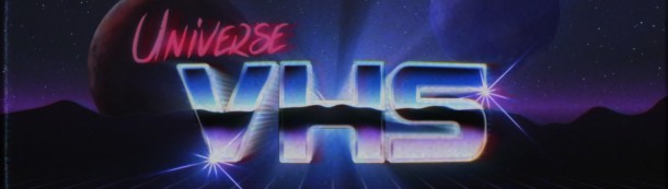 Red Giant Universe VHS effect logo