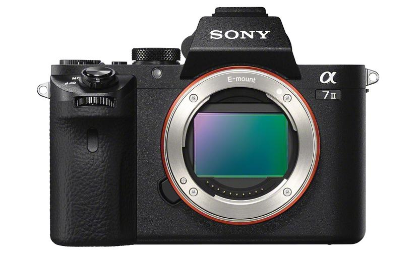 Sony A7II front without lens