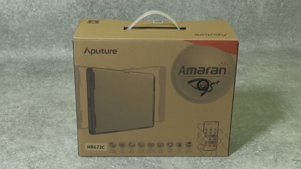 Aputure HR672 box