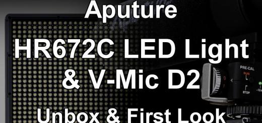 Aputure HR672C & VMicD2