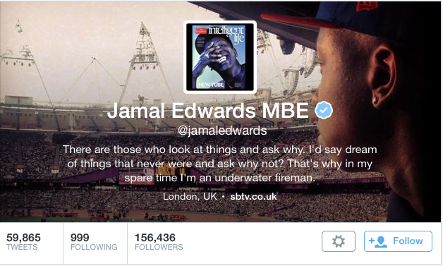 Jamal Edwards MBE