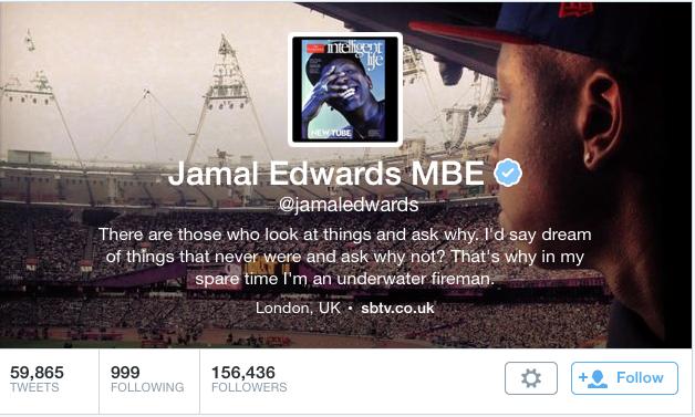 Jamal Edwards MBE