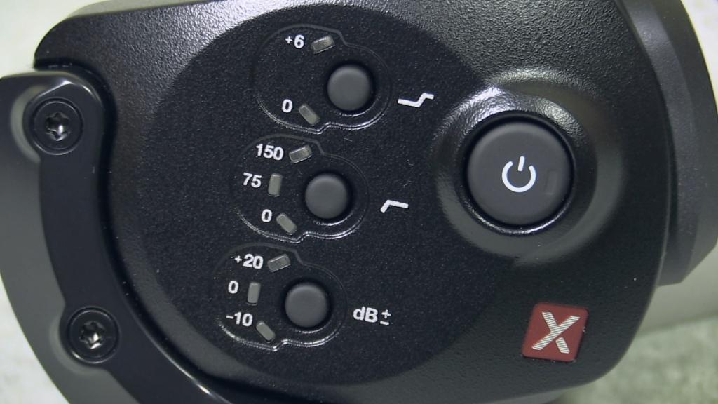 Rode SVMX control buttons