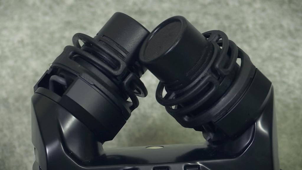 Rode SVMX mics close up
